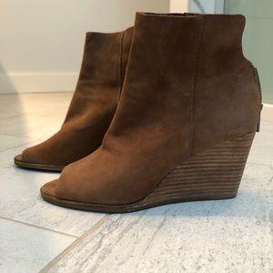 Lucky Brand wedge booties